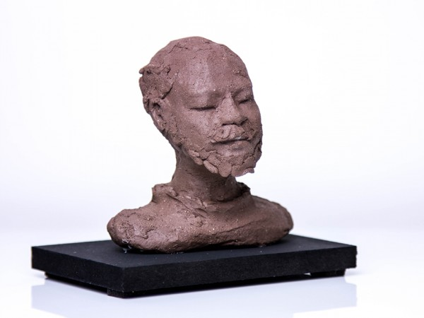 thumbnail galerie sculpture terre cuite homme Somalie terres ethniques by Anne Requillart
