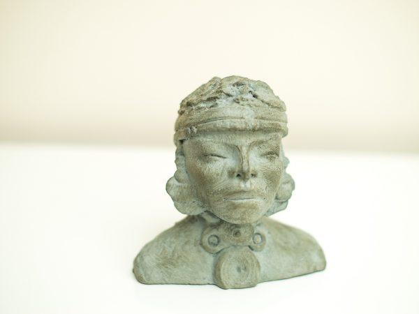 thumbnail galerie sculpture Plâtre Birmane terres ethniques by Anne Requillart