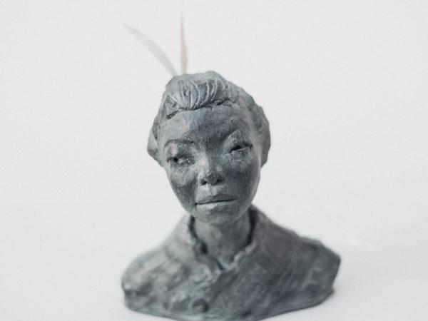 thumbnail galerie sculpture Plâtre japonaise terres ethniques by Anne Requillart