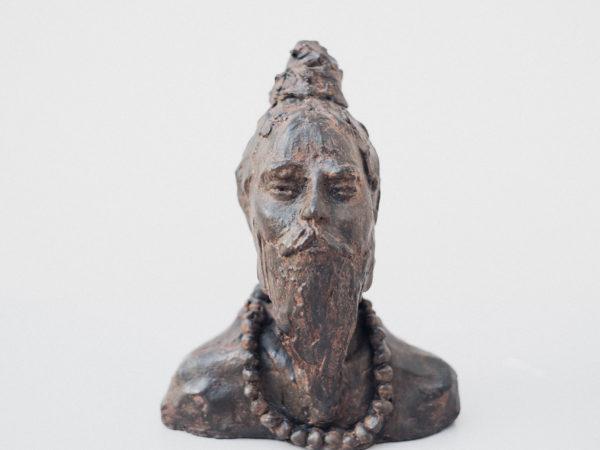 thumbnail galerie sculpture Plâtre Indien terres ethniques by Anne Requillart